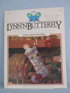 The Lynnn Butterfly Collection   Christmas Time in the Village 1987