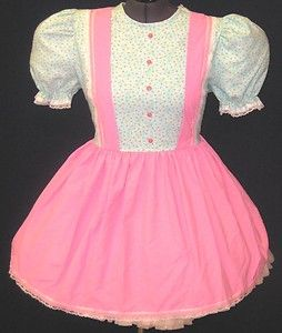 Cute Pink Mint Adult Baby Sissy LG Dress Leanne