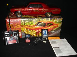 1964 64 IMPALA SS RED GOLD TRICKED OUT LOWRIDER RC RADIO CONTROL CAR