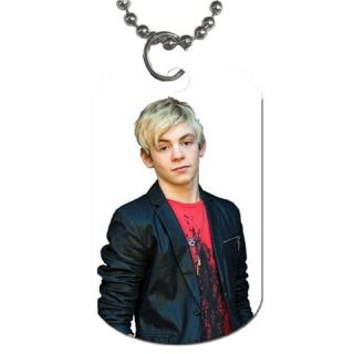 New R5 Band Ross Lynch Photo Dog Tag Necklace