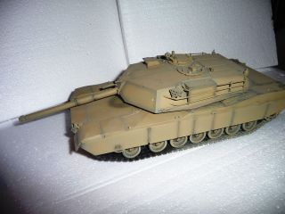 and Painted Airbrushed 1 35 M1 Abrams American Main Battle Tank