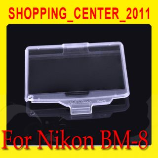 BM 8 Hard Crystal LCD Screen Monitor Cover Protector for Nikon D300