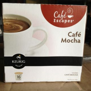 Green Mountain Coffee Cafe Mocha Keurig Cafe Escapes K Cups 18 50 450