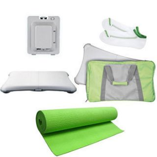 Mgear 5 in 1 Bundle Green for Nintendo Wii Fit