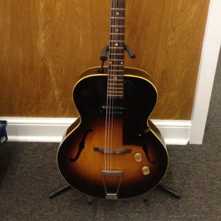 Vintage Gibson ES 125 Archtop Electric Guitar Mid 1950s with Original