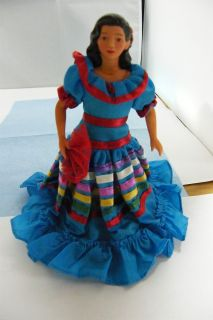 Avon Doll International Porcelain Doll Collection Lupita