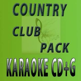 Pack 1 Karaoke CDG from Music Maestro w Garth Brooks and More