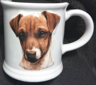 JACK RUSSELL TERRIER CUP Best Friends Original SIZE 12 oz COLOR WHITE