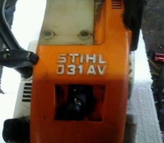 Vintage Stihl Chainsaw 031 AV