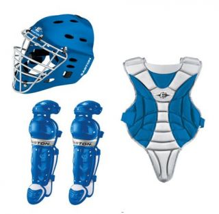 Easton Black Magic Royal Silver Catchers Set Ages 9 12