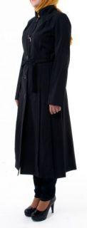Black Turkish Jilbab Size 48 Manteau Pardesu Abaya Niqab Hijab Khimar