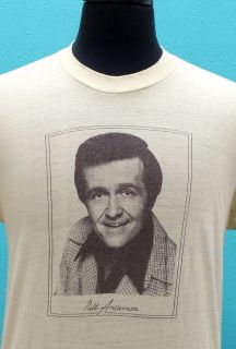 Vintage Bill Anderson 70s Country T Shirt Medium
