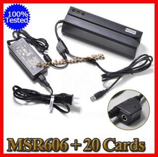 Magnetic Credit Card Reader Encoder3 TRACKS Magnetic Card Reader