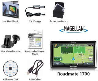 Magellan Roadmate 1700 GPS Vehicle Navigation System