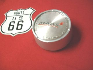 Maas Racing Silver Wheel Center Cap Part 917K69A LG0611 12 on Back of