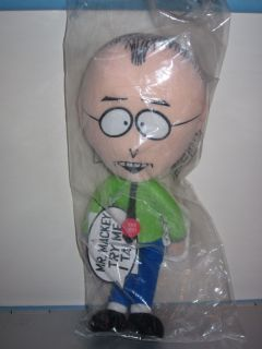 RARE SEALED South Park Talking Mr Mackey Plush Toy Doll Figure