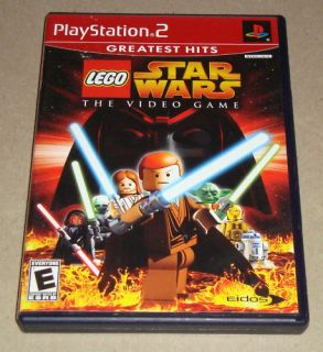 Lego Star Wars The Video Game PS2 Complete 788687500326