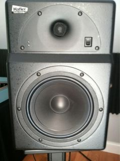 Pair of Hafler TRM8 Pro Monitors Recording Studio Speakers