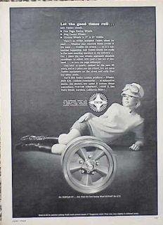 1968 Fenton Mag Wheel Rim Original Old Ad CMY Store 4MORE Ads 5 Free