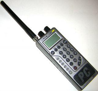Vintage Sony Wavehawk PC Control 300CH Scanning Radio w Antenna