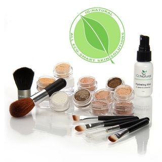 17 Try Me True Mineral Makeup Medium Kit 5 Brush Set