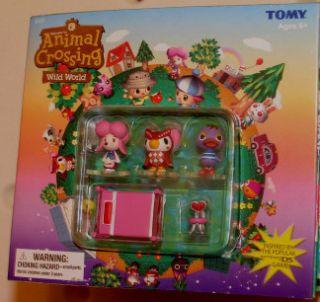 Tomy Animal Crossing Mini Fig Mallary Harriet Celeste
