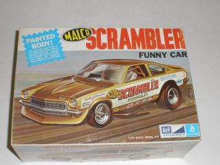 Vintage MPC MALCO Scrambler Funny Car General Mills 1 25th 1 0755 250