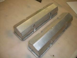 Race Product SBC Chevy Sprint Car Drag Car Hot Rod Valve Covers