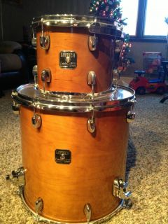 Catalina Maple Drums Floor Tom W legs and Rack Tom W Suspended Mount