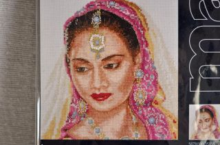 Maia Asian Portrait Counted Cross Stitch Kit