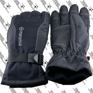 Manzella Mens MZ 283 Fahrenheit 5 Waterproof Ski Snowboard Glove Large