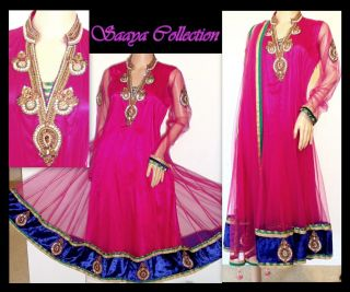 36 KALIDAR Designer Indian Pakistani Anarkali salwar kameez Churidar