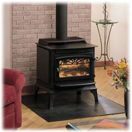 Majestic Windsor Series Medium Steel Wood Burning Stove Model
