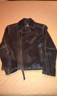 Marc New York Andrew Mark Leather Motorcycle Jacket