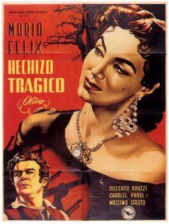 Maria Felix Poster Tragic Spell Hechizo Tragico WOW