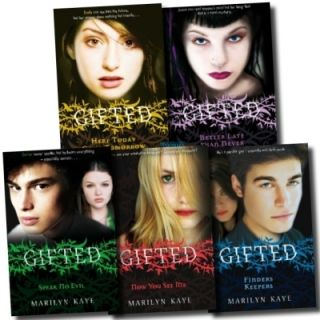 Gifted Series Collection Marilyn Kaye 5 Books Set Pack