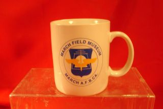 Coffee Mug March Air Force Base Museum CA
