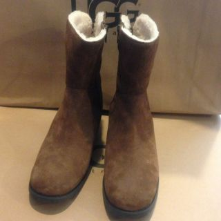 UGG Mare Ultimate Tall Womens Brown Suede Boots Size 10 US NEW IN BOX
