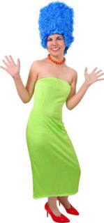 Adult Marge Simpson Halloween Costume Outfit Dress