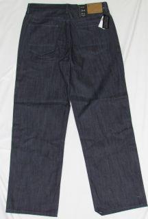Sean John New $58 Garvey Blue Denim Jeans Choose Size