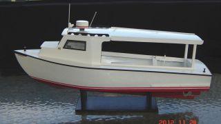Chesapeake Bay Work Boat Scratch Built