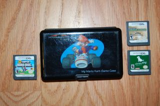 Mario Kart DS game case  Includes MW2, New Super Mario Bros, and