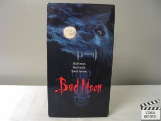 Bad Moon VHS Mariel Hemingway Michael Pare Eric Red