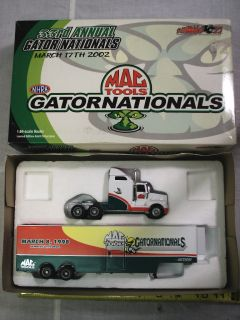 33rd ANNUAL GATOR NATIONALS MAC TOOLS SEMI ACTION TRACTOR TRAILER 1 64