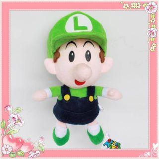 Nintendo Super Mario Brothers Figure Plush Toy Baby Luigi Stuffed