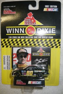Mark Martin Winn Dixie 1/64 Promo Die Cast Ford Thunderbird 1997 #60