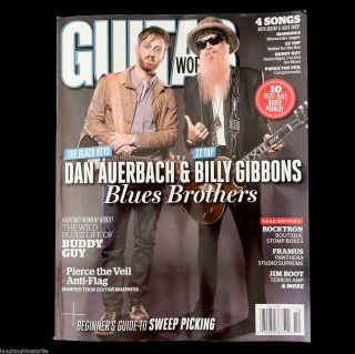 Magazine October 2012 Billy Gibbons Dan Auerbach Blues Brothers