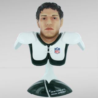 Mark Sanchez Hand Painted Limited Edition NFL Collectors Bust New in