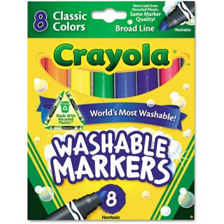 Crayola Classic Colors Washable Markers