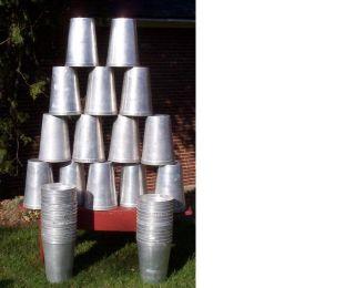12 Aluminum Sap Buckets Maple Syrup Bucket 2 Gallon